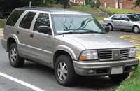 Oldsmobile Bravada 2000-2001 Service Repair Manual