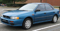 Subaru Impreza 1993-2001 Service Repair Manual